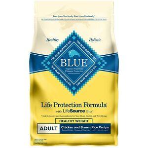 Blue Buffalo Life Protection Formula Natural Adult Dry Dog Food Chicken/Rice 6lb