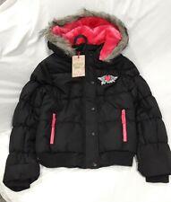 BNWT Funky Diva Girls Padded Showerproof Warm Winter Jacket