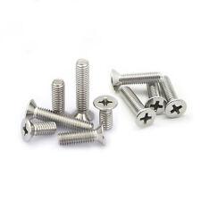 10#-24 phillips flat head screw countersunk steel screws machine bolts