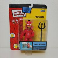 Playmates The Simpsons EVIL HOMER Figure World of Springfield Series 16 WOS 2004