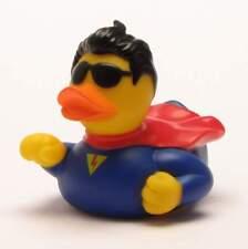 Badeente Superman Quietscheentchen Gummiente Quietscheente Plastikente Entchen