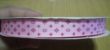 "3 yds pink Grosgrain ribbon LV 25 mm (1"")"