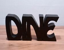 "FREE STANDING WOODEN PLAQUE ""DINE""wooden letters"