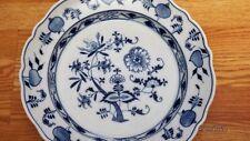 "Meissen BLUE ONION 13.5"" Large Serving Bowl w/ Sword Mark"