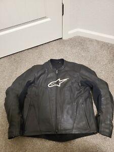 AlpineStars Stunt leather Jacket US size 44 UK 54