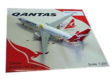JC WINGS 1/200 DIECAST AIRLINER QANTAS B737 WALLIBIES JC2QFA505
