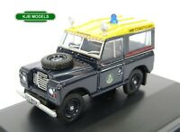BNIB OO GAUGE OXFORD 1:76 76LR3S007 Land Rover S3 SWB Station Wagon HM Coastguar