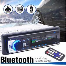Bluetooth Autoradio Voiture Dash Stéréo Radio 1DIN Lecteur MP3 USB/SD AUX FM Car