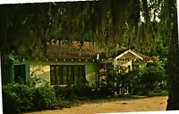 Vintage Postcard - Meme's On Bon Secour River Building Alabama AL #3870