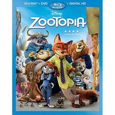 Zootopia Bluray/DVD 2 disc
