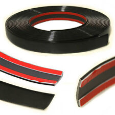 20MM Black Styling Tuning Moulding Strip Trim Self Adhesive Tape Car Van Boat 3M