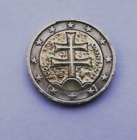 Moneta 2 Euro Slovacchia 2009 RARA
