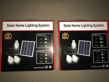 Solar Shed Lights Kit x 2 - total 6 lights  -*- free post Aussie Stock !