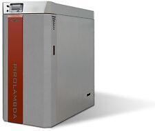 Caldaia a legna classe 5 ad alta efficienza 31 kw per riscaldamento casa
