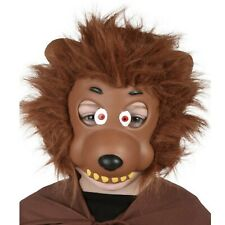 Werewolf Wolf Mask Child Costume Accessory EVA with Hair Halloween Book Week