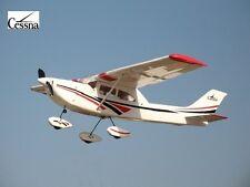 Avión Radiocontrol Cessna 182-15 Avión Rc Madera Gasolina / Electrico ARF AA035