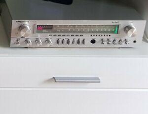 Grundig R1000 Receiver silber  High Fidelity Boxen Philips Top Zustand