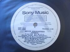 "BRUCE SPRINGSTEEN 45 PROMO Human Touch SOUTHAMERICA 7"" 1992 Spanish Titles"