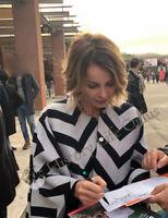 Violante Placido Andrea Bosca Foto Autografata Signed Autografo Cinema
