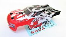 Arrma KRATON 4x4 4s BLX - Body Shell (Red trimmed painted decaled ARA102690