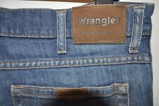 VINTAGE Wrangler Durevole Boot Cut Jeans Blu W 34 L 32