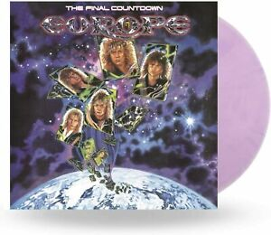 EUROPE - THE FINAL COUNTDOWN - COLOURED - LP