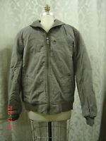 AEROPOSTALE MENS Jacket Ash Gray NWT MSRP $79.50 AERO Men Large Zipper