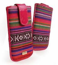 Tuff-Luv Frauen Tasche Hülle Case Etui Cover Navajo Bunt für Apple iPhone 5/5s