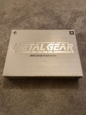 Playstation 1 PS1 Game Metal Gear Solid Limited Edition Premium Package