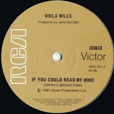Viola Wills ORIG OZ 45 If you could read my mind NM '80 RCA Soul Disco R&B