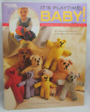 Leisure Arts~ It's Playtime Baby 9 Knit Designs for MOM & TOT~Bears Pattern Book