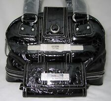 GUESS Daisy Shine Doctor Bag Purse Satchel Wallet New