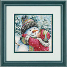 Dimensions Cross Stitch Kit - A Kiss For Snowman
