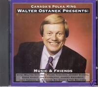 """WALTER OSTANEK  """"Music & Friends""""  NEW SLOVENIAN POLKA CD"""