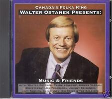 "WALTER OSTANEK  ""Music & Friends""  NEW SLOVENIAN POLKA CD"