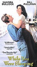While You Were Sleeping (VHS, 2002)