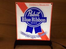 """Pabst Blue Ribbon Pbr Led Beer Sign Light Up Display 14"""" H x 11"""" W New & F/Ship"""