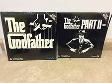The Godfather 1 and Part II laserdisc lot mint condition laser discs