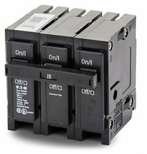 Eaton Br315 Plug-On Mount Type Br Circuit Breaker 3-Pole 15 Amp 240 Volt Ac