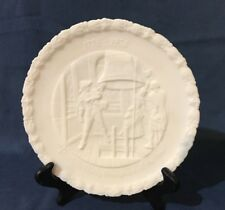 Fenton Commemorative Plate Milk Glass #4 Proclaim Liberty Throughout The Land