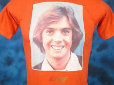 NOS vintage 70s SHAUN CASSIDY CONCERT T-Shirt XS rock tour hardy boys thin 80s
