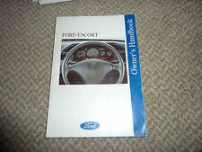 FORD ESCORT OWNERS HAND BOOK c 1993/94