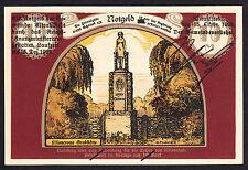 Altrahlstedt -Liliencron-Gesellschaft- 10 Mark Aufdr. schwarz (bis 15.12.1922)