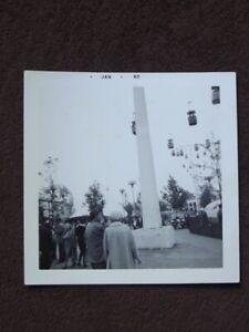 SWISS SKY RIDE AT 1964's NEW YORK WORLD'S FAIR Vtg 1965 PHOTO