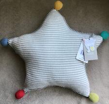 Mamas & Papas Big Top Tales Knitted 🌟 Star 🌟 Shaped Cushion BNWT
