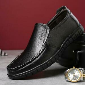 Men Casual Loafer Shoes Breathable Slip on Moccasins Breathable Antiskid Oxfords