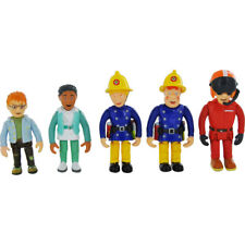 Fireman Sam Figures Set of 5 Articulated Penny Tom Norman Nurse Flood Toy New