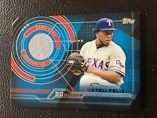 2014 Topps Trajectory Relics #TR-NF Neftali Feliz Texas Rangers Baseball Card
