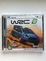 WRC 6 Fia World Rally Championship PC RU DVD Jewel Case Brand New Free Shipping