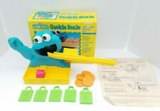 Cookie Monster Scale 1993 Sesame Street Muppets Playskool Toy Complete Matching